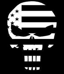 Punisher American Flag Skull Vinyl Window Decal Bumper Sticker Laptop Ebay