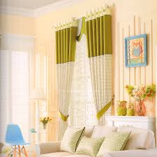 Chic Multi Color Polka Dots Button Curtains For Kids Room No Valance 2016 New Arrival