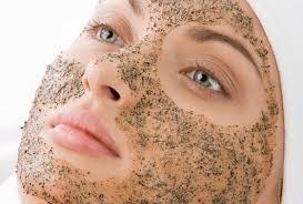 homemade exfoliating face scrub remedy