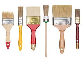 24 diffe types of paint brushes