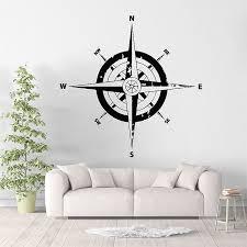 Compass Vinyl Wall Art Decal