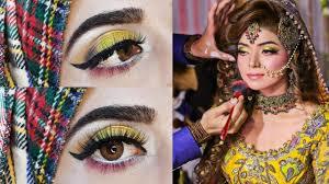 mehndi makeup makeup by sadia