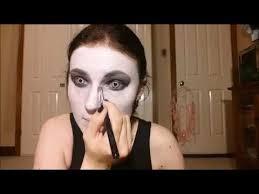grim reaper makeup horror makeup