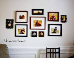 creating a photo collage for your home