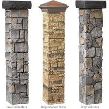 I Have To Have This Cast Stone Post Covers At The Home Depot Exterior Design Backyard Mailbox Landscaping Backyard Fences
