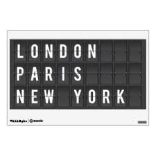 Airport Wall Decals Stickers Zazzle