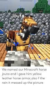 25 best memes about minecraft horse