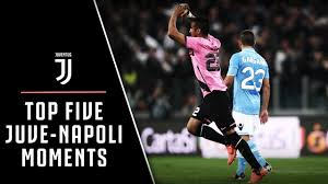 TOP 5 JUVENTUS-NAPOLI MOMENTS - YouTube