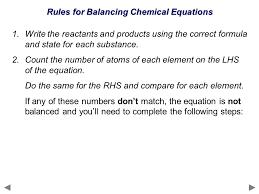 balancing chemical equations ppt