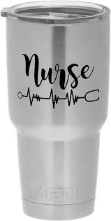 Amazon Com Cups Drinkware Tumbler Sticker 3 Nurse Funny Cool Sticker Decal Automotive