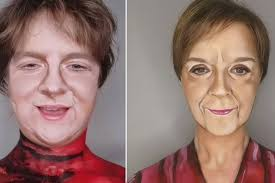 Scots make-up artist morphs own face into Nicola Sturgeon and Lewis Capaldi  in bid to beat lockdown boredom - Daily Record