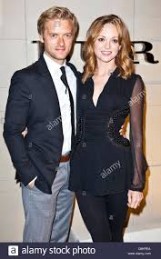 Jayma Mays, Adam Campbell at arrivals for Burberry Body Fragrance ...