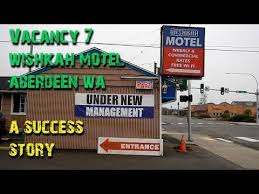 vacancy 7 wishkah motel aberdeen wa