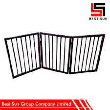China Wooden Security Gate Durable Expandable Fence Gate China Wooden Gate Security Gate