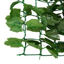 Shop Costway 59 X118 Faux Ivy Leaf Decorative Privacy Fence Screen Overstock 18116285