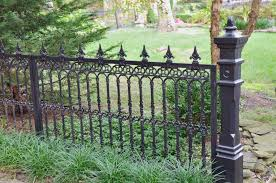 Cast Iron Victorian Style Estate Fencing Cast Iron Fence Style Estates Victorian Gardens