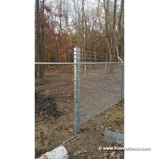 Sch40 Round Chain Link Fence Posts And Pipes Hoover Fence Co