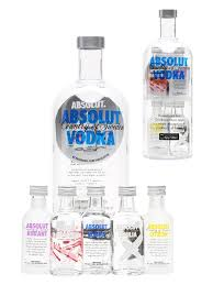 absolut naturals swedish vodka