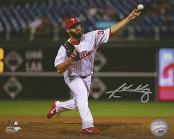 "Adam Morgan Philadelphia Phillies Autographed MLB Baseball 8"" x 10 ..."