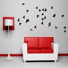 Flock Of Birds Wall Decal Vinyl Sticker Dining Bedroom Living Room Bird Wall Decals Vinyl Wall Decals Bird Bedroom