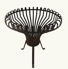 mid century french brazier fire basket