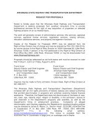 ARKANSAS STATE HIGHWAY AND TRANSPORTATION DEPARTMENT REQUEST FOR PROPOSALS  Notice is hereby given that the Arkansas State Highwa