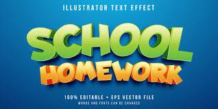 editable text effect cartoon