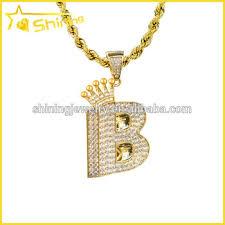 14k yellow gold diamond pendant mens