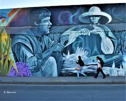 Street art in Leon, Guanajuato, Mexico at Panteon San Nicolas | Mennem Foto