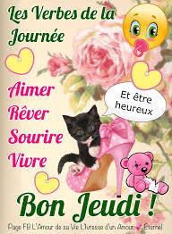 Les Verbes de la Journée Aimer Sourire... - • L'Amour de sa Vie ...