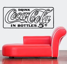 Streetwall Wall Decal Coca Cola 5 Cent