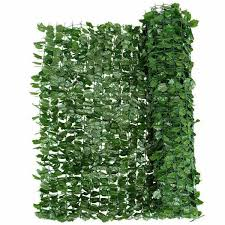 Costway 40 In X95 In Green Faux Ivy Leaf Decorative Privacy Fence Screen Artificial Hedge Fencing Gt3050 The Home Depot