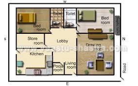 vastu model floor plans for north direction