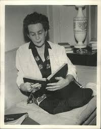 1961 Press Photo Adela Rogers St. John Journalist Novelist Screenwrite |  Historic Images