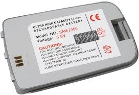 Li-Ion Battery Power for Samsung Z300 ...