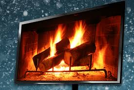 create a digital yule log on your hdtv