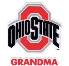 Amazon Com Ohio State University Grandma Window Decal Everything Else