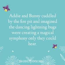 Addie & George - Fireflies always seem magical to me, even...