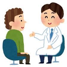 お医者さんのイラスト「問診」 | かわいいフリー素材集 いらすとや