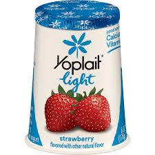 yoplait light strawberry fat free
