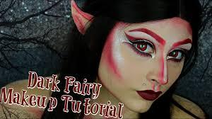 fantasy dark fairy halloween makeup