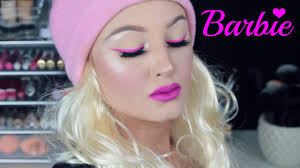 barbie inspired makeup tutorial