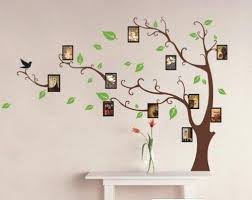 Amazon Com Brown Photo Tree Wall Decal Home Livingroom Art Decor With 11x Pictures 1 Wall Stickers Home Decor Wall Decor Stickers Wall Stickers Living Room