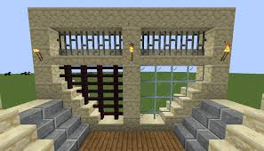 I Made A Resource Pack That Connects Glass And Fences To Slabs And Stairs Better Minecraft