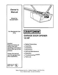craftsman 139 53974srt owner s manual