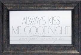 always kiss me goodnight whole fine