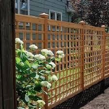 46 Marvelous Privacy Fence Ideas For Your Backyard 12 In 2020 Backyard Fences Lattice Trellis Lattice Garden