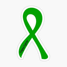 Green Ribbon Stickers Redbubble