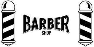 Large Barber Shop Front Window Barbers Pole Vinyl Sticker Sign Wall Art Salon Ebay