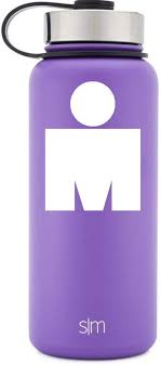 Amazon Com M Dot Ironman White Vinyl Decal For Water Bottles Drinkware Vehicles Or Electronics Computers Accessories